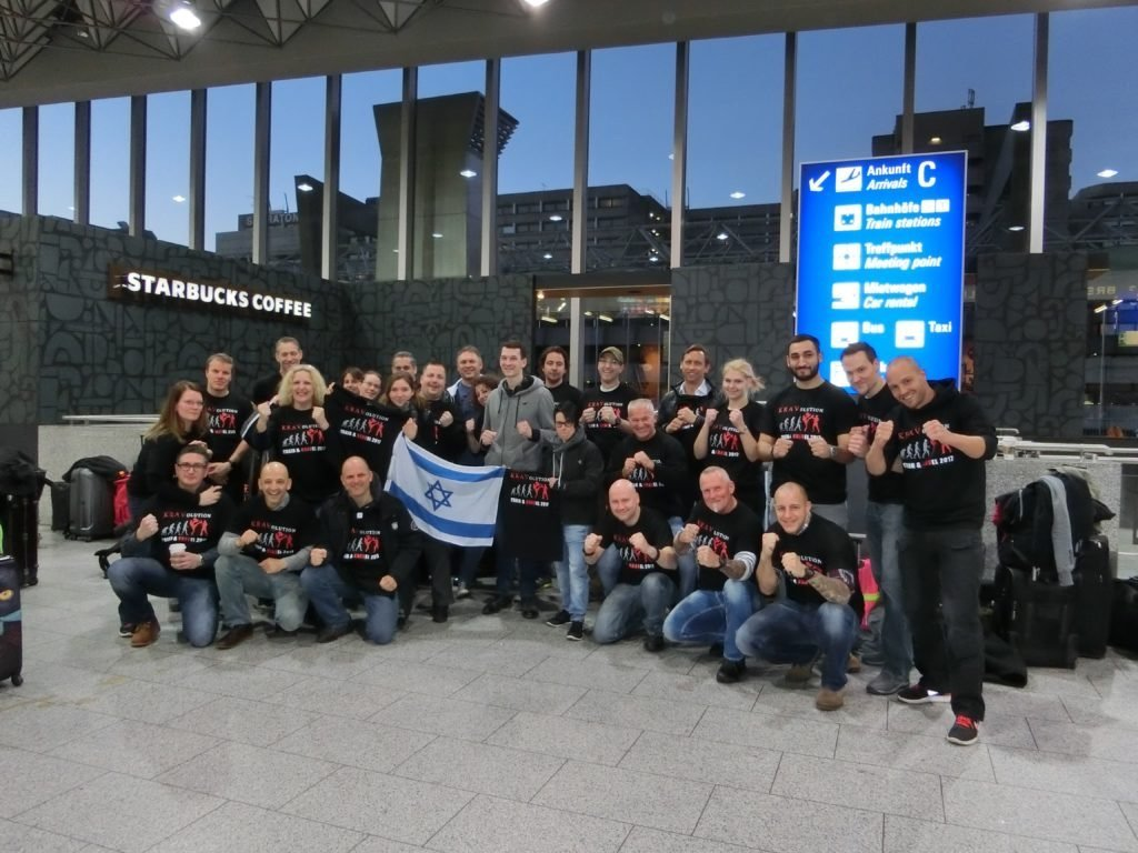 KRAVolution Team Train & KRAVel 2017 Israel Gruppe Frankfurt