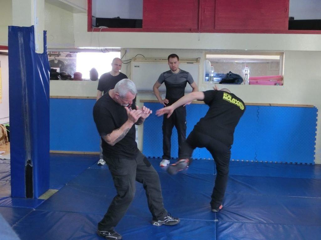 KRAVolution Team Train & KRAVel 2017 Israel - Amnon Darsa - Kick
