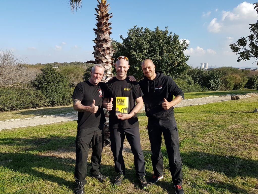 KRAVolution Team Train & KRAVel 2017 Israel - Amon Darsa