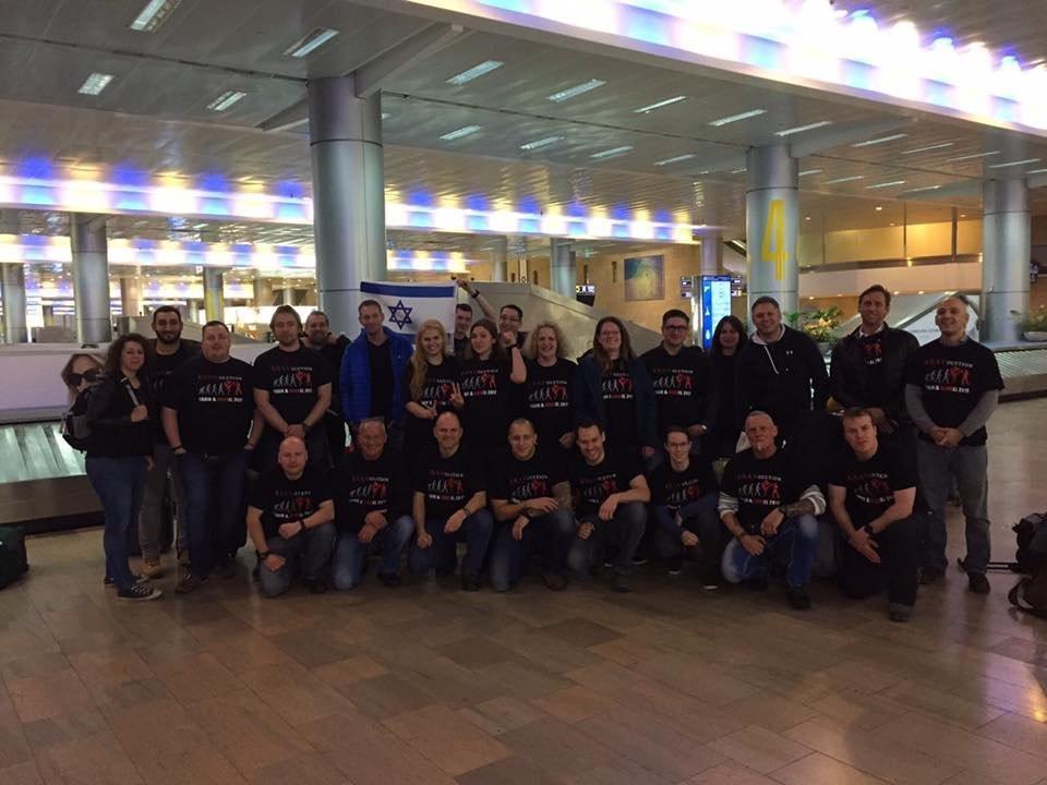 KRAVolution Team Train & KRAVel 2017 Israel Gruppe Israel