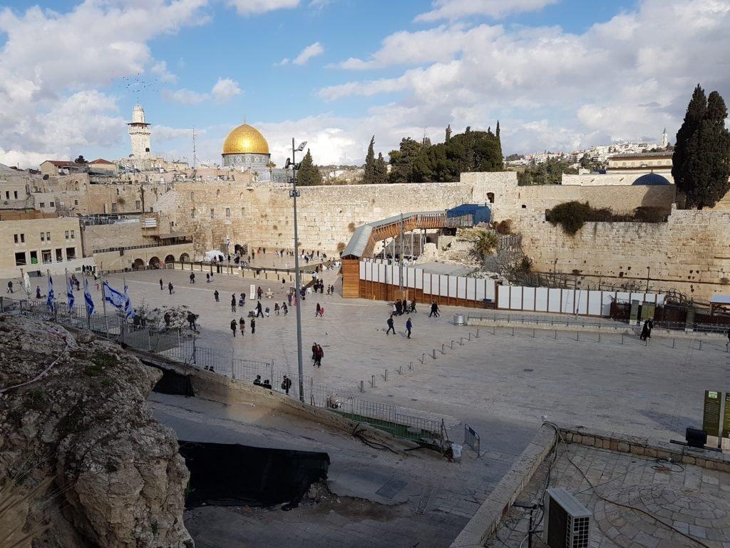 KRAVolution Team Train & KRAVel 2017 Israel - Klagemauer