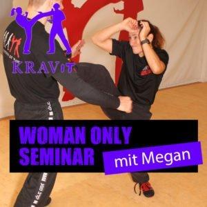 Women Only Seminar mit der israelischen Krav Maga Expertin Megan Berkman