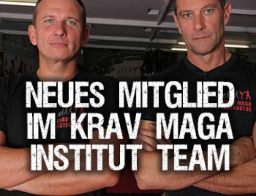 Neues Mitglied im Krav-Maga-Institut Team!