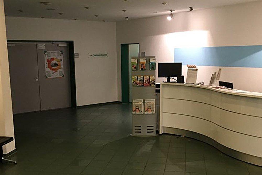 Krav Maga Bergisch Gladbach Eingang