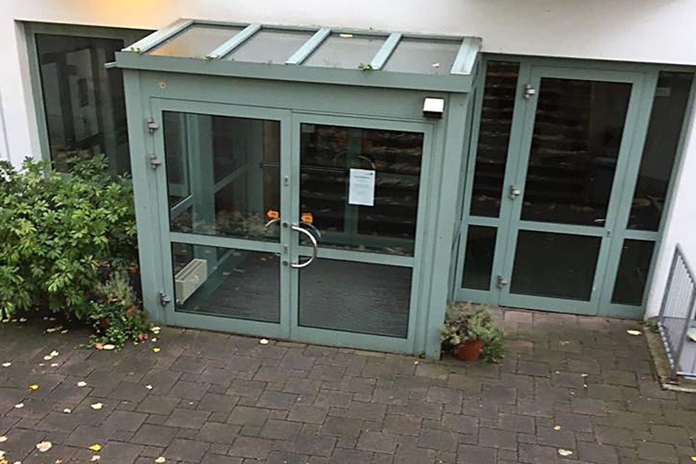 Krav Maga Bergisch Gladbach Eingangstür