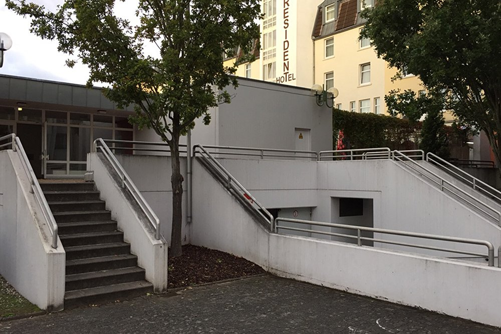 Krav Maga Bonn Poppelsdorf Eingang
