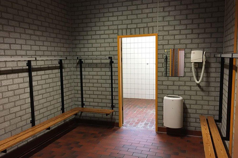 Krav Maga Düsseldorf Umkleide