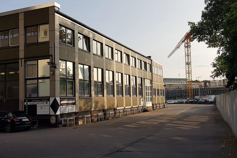 Krav Maga Köln Deutz Gebäude