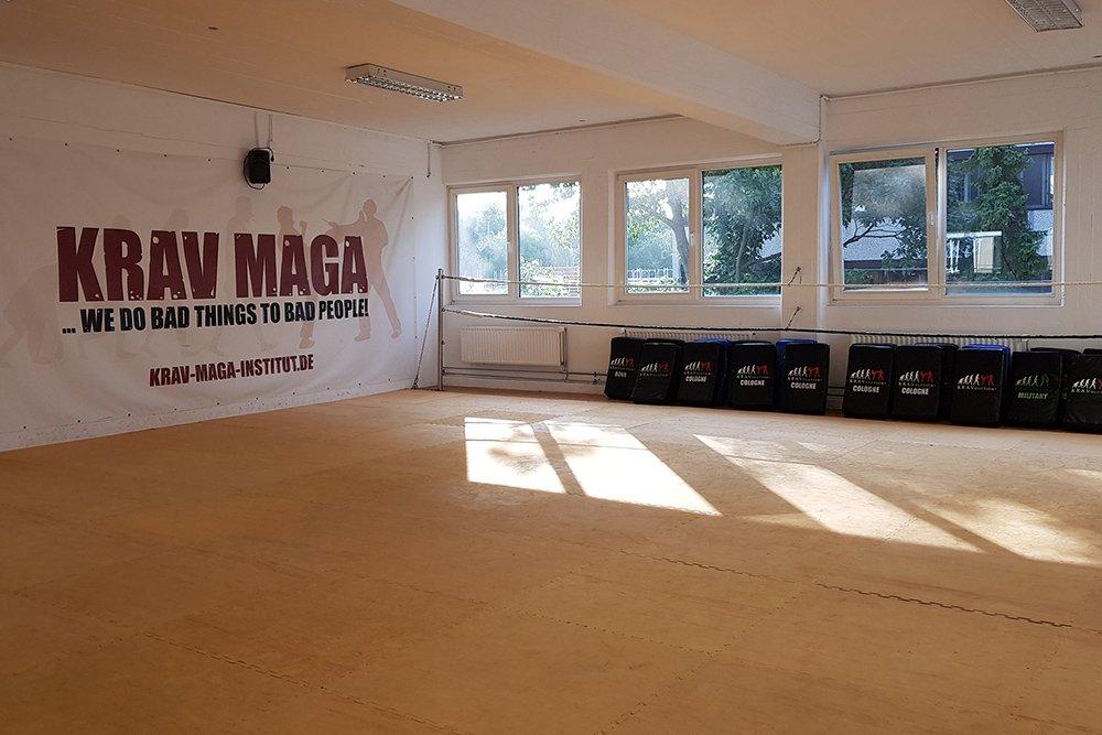 Krav Maga Köln Deutz Trainingshalle