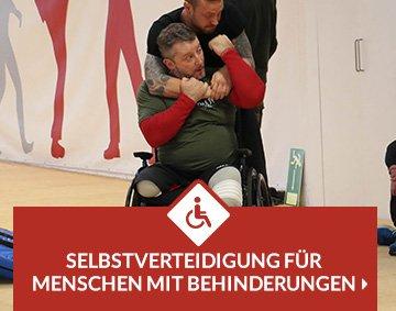 Selbstverteidigung für Menschen mit Behinderung