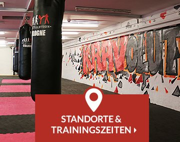 Teaser Standorte und Trainingszeiten