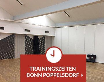 Teaser Trainingszeiten Bonn Poppelsdorf