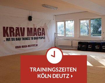 Teaser Trainingszeiten Krav Maga Köln Deutz