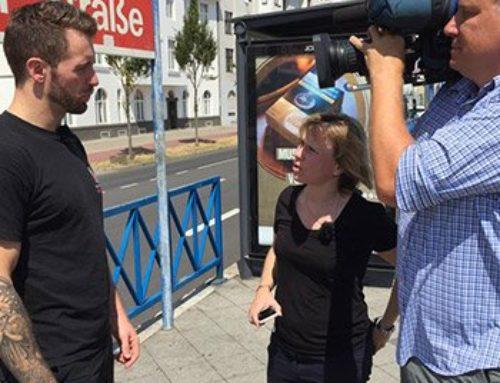 RTL Explosiv Beitrag mit dem Krav-Maga-Institut