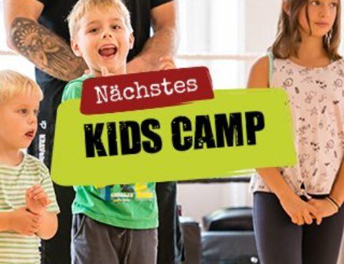 Nächstes Kids Crash Camp vom 29.11. bis 01.12.2019