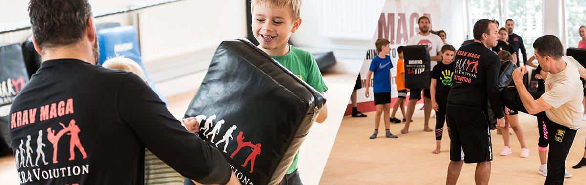 Werde Krav Maga Trainer für Kinder & Teenager