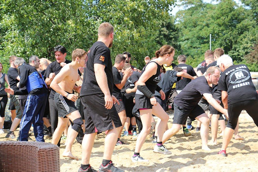 Krav Maga als Betriebssport Teamevent Teambuilding Köln Düsseldorf Bonn