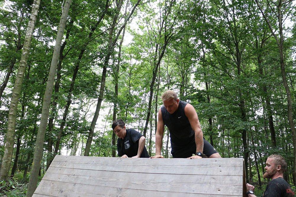 Krav Maga Teambuilding im Kletterpark 1