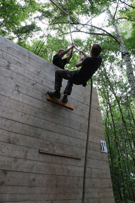Krav Maga Teambuilding im Kletterpark 10