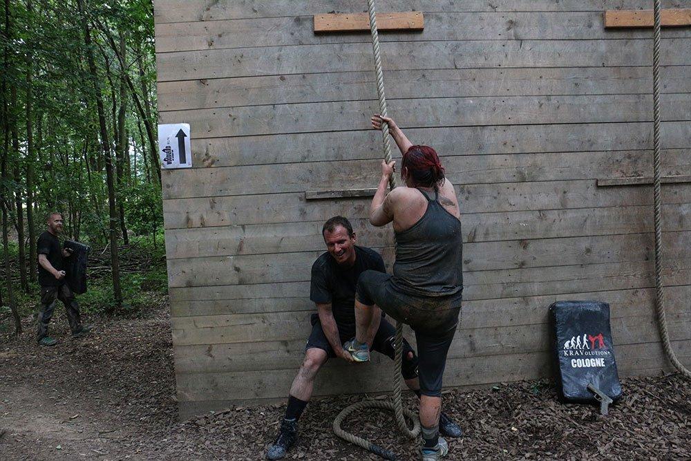 Krav Maga Teambuilding im Kletterpark 11