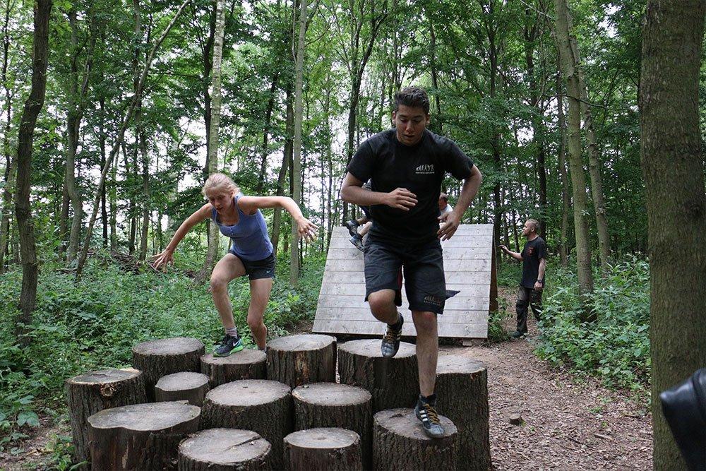 Krav Maga Teambuilding im Kletterpark 2