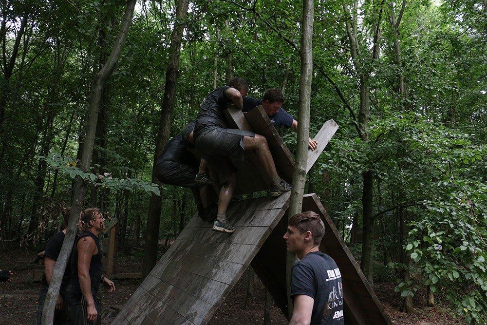 Krav Maga Teambuilding im Kletterpark 3