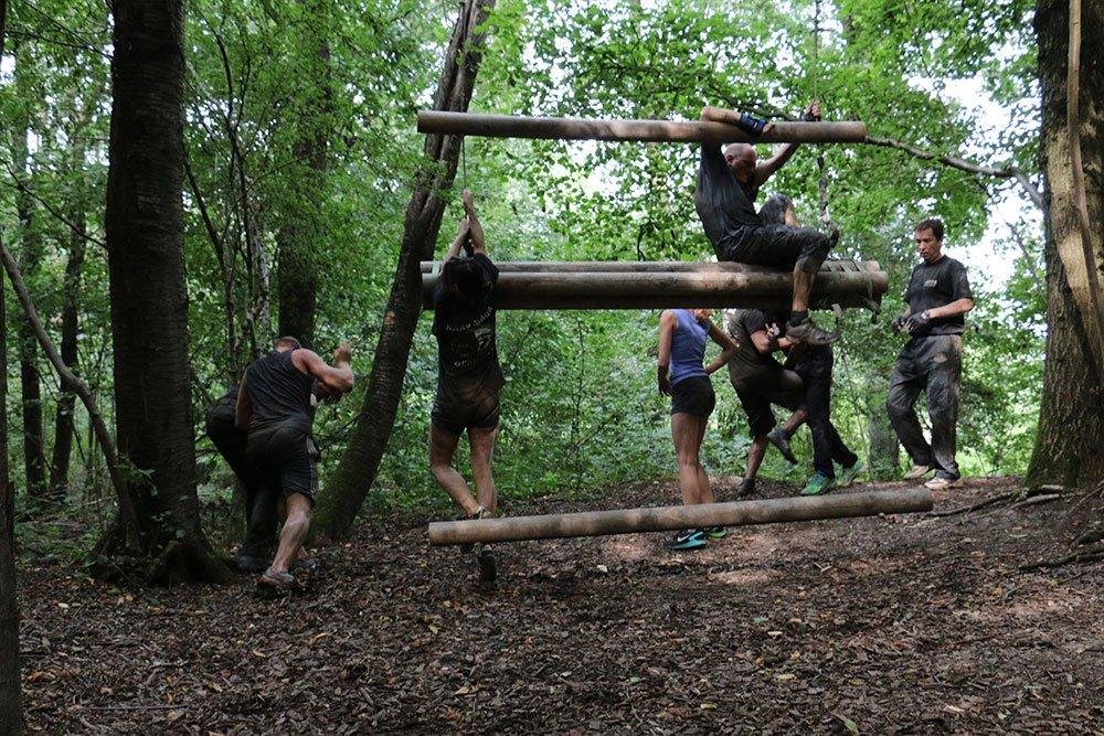 Krav Maga Teambuilding im Kletterpark 5