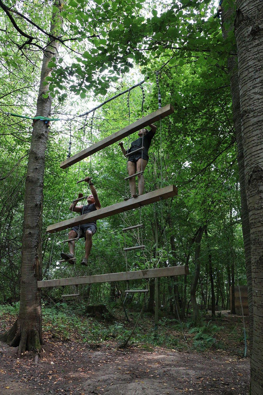 Krav Maga Teambuilding im Kletterpark 7