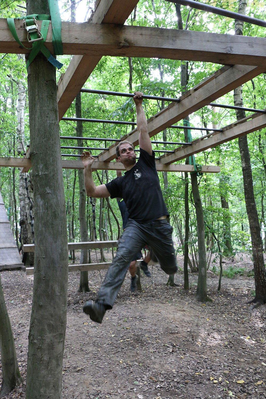 Krav Maga Teambuilding im Kletterpark 8