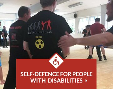 Self-defence for people with disabilities