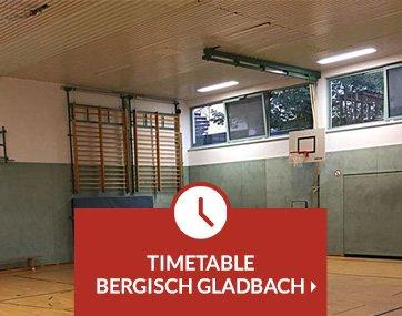 Timetable Krav Maga lessons Bergisch Gladbach