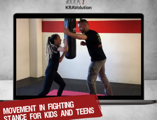 Today at 4pm – Movement in Fighting Stance for Kids & Teens