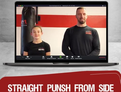 Today at 4pm – Straight punsh from Side for Kids and Teens