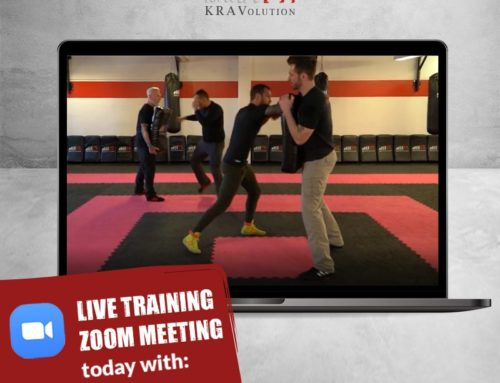 Heute um 18:00 Uhr – Zoom Krav Maga mit KRAVolution world team Instructor Andi Sperzel