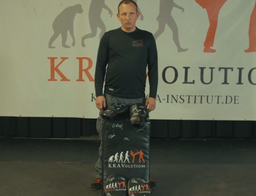 Win signed Krav Maga equipment