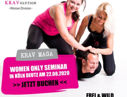 Krav Maga Women Only Seminar in Cologne-Deutz