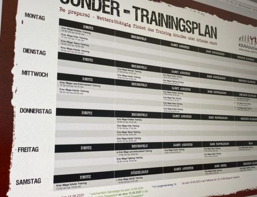 Erweiterte Trainingszeiten!